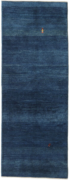 Gabbeh Persia Rug 78X202 Authentic  Modern Handknotted Hallway Runner  Dark Blue (Wool, Persia/Iran)