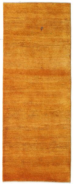 Gabbeh Persan Tapis 78X204 Moderne Fait Main Tapis Couloir Orange/Marron Clair (Laine, Perse/Iran)