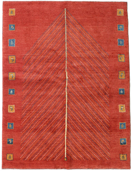 Gabbeh Persia Rug 152X204 Authentic  Modern Handknotted Rust Red/Crimson Red (Wool, Persia/Iran)