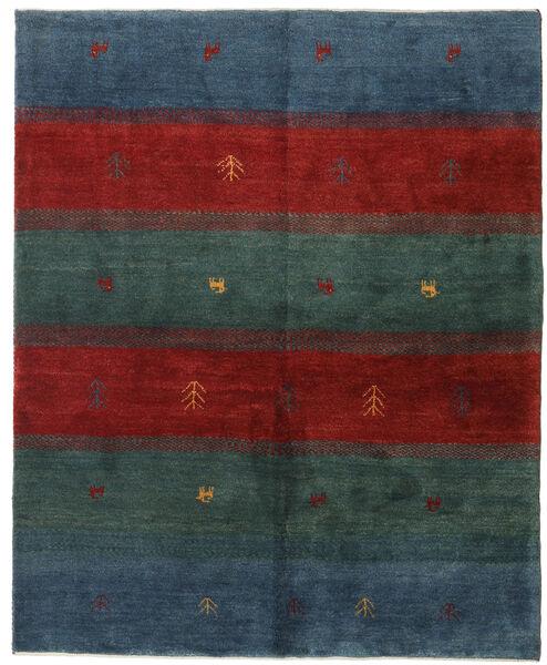 Gabbeh Persia Matto 158X193 Moderni Käsinsolmittu Tummansininen/Tummanpunainen (Villa, Persia/Iran)
