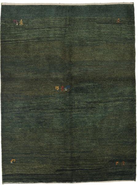 Gabbeh Persia Rug 152X203 Authentic  Modern Handknotted Dark Green (Wool, Persia/Iran)
