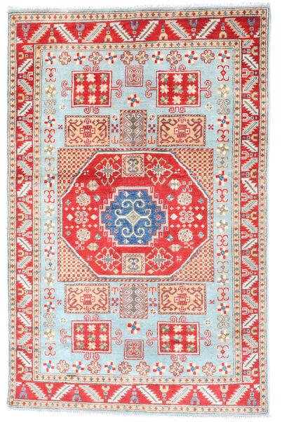 Kazak Rug 117X181 Authentic  Oriental Handknotted Beige/White/Creme (Wool, Pakistan)