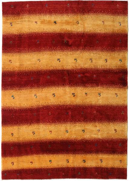 Gabbeh Persia Rug 174X248 Authentic  Modern Handknotted Dark Red/Orange (Wool, Persia/Iran)
