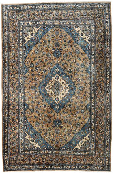 Kashmar Rug 195X297 Authentic  Oriental Handknotted Black/Light Brown (Wool, Persia/Iran)