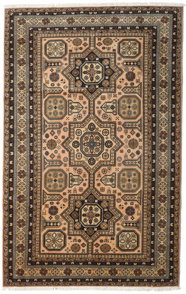 Ardebil Rug 174X250 Authentic  Oriental Handknotted Light Brown/Brown (Wool, Persia/Iran)