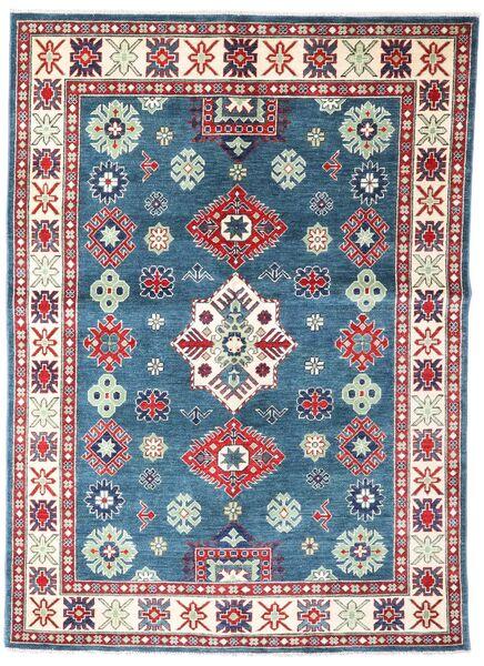 Kazak Szőnyeg 149X209 Keleti Csomózású Kék/Sötétszürke (Gyapjú, Pakisztán )