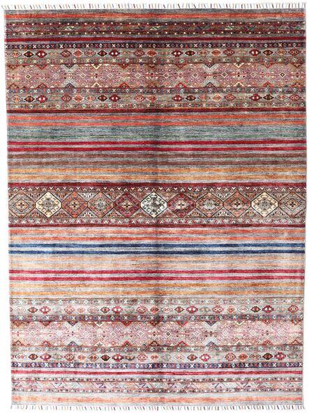 Shabargan Tapis 179X237 Moderne Fait Main Violet Clair/Gris Clair (Laine, Afghanistan)