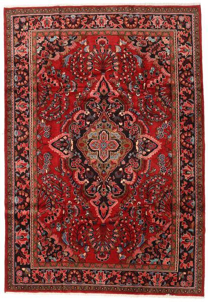Lillian Teppe 221X319 Ekte Orientalsk Håndknyttet Mørk Rød/Mørk Brun (Ull, Persia/Iran)