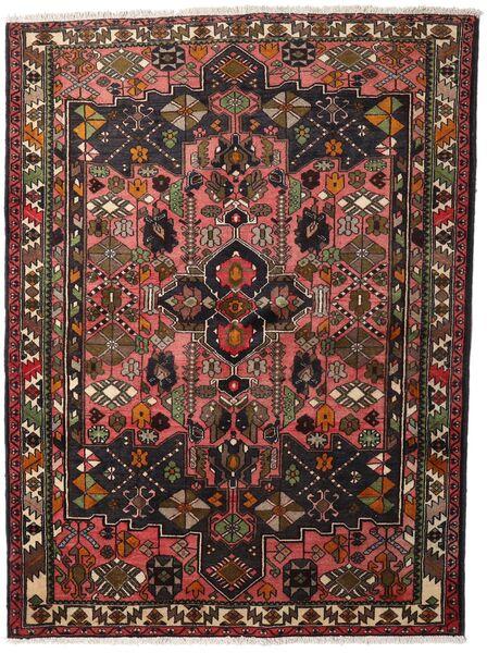 ハマダン 絨毯 150X200 オリエンタル 手織り 深紅色の/濃い茶色 (ウール, ペルシャ/イラン)