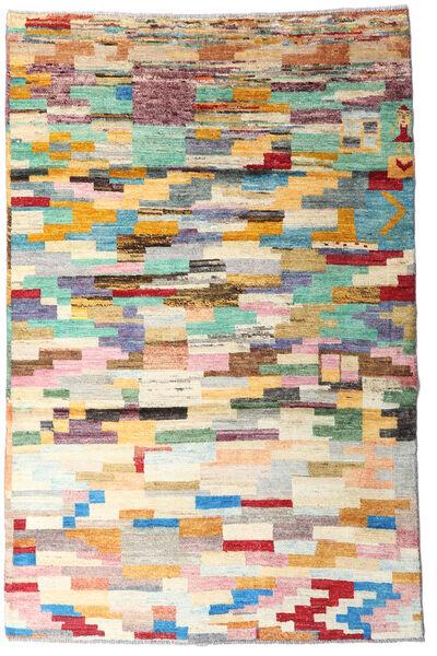 Moroccan Berber - Afghanistan 絨毯 118X173 モダン 手織り ベージュ/暗めのベージュ色の (ウール, アフガニスタン)