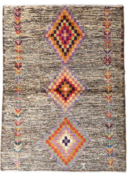Moroccan Berber - Afghanistan 絨毯 116X157 モダン 手織り 薄い灰色/ベージュ (ウール, アフガニスタン)