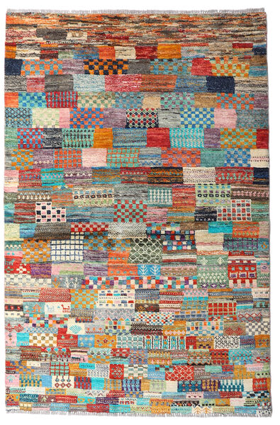 Moroccan Berber - Afghanistan 絨毯 119X179 モダン 手織り 茶/薄い灰色 (ウール, アフガニスタン)