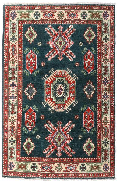 カザック 絨毯 98X152 オリエンタル 手織り ターコイズ/深紅色の (ウール, パキスタン)