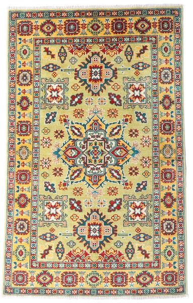 Kazak Rug 96X154 Authentic  Oriental Handknotted Dark Beige/Beige (Wool, Pakistan)