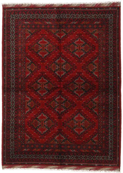 アフガン 絨毯 176X240 オリエンタル 手織り 深紅色の/赤 (ウール, アフガニスタン)