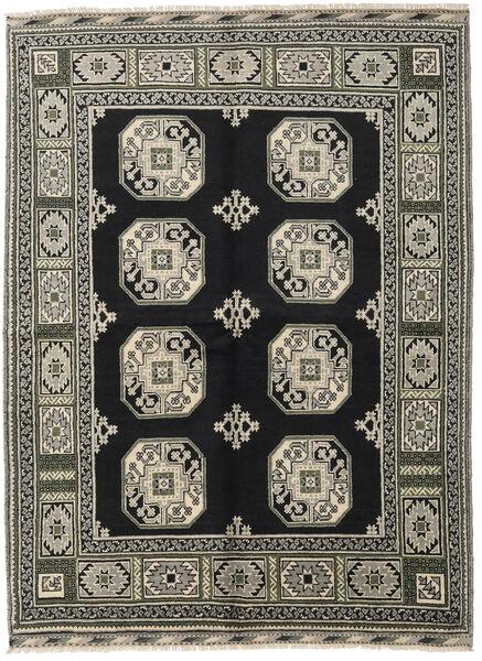 Afghan Rug 176X232 Authentic  Oriental Handknotted Black/Dark Grey (Wool, Afghanistan)