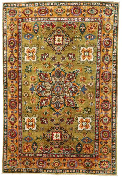 Kazak Dywan 171X245 Orientalny Tkany Ręcznie Ciemnozielony/Brązowy (Wełna, Pakistan)