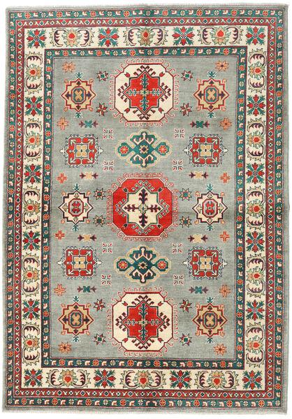 カザック 絨毯 169X242 オリエンタル 手織り 薄い灰色/濃いグレー (ウール, パキスタン)