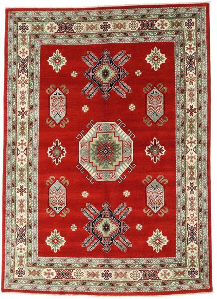 Kazak Rug 171X240 Authentic  Oriental Handknotted Rust Red/Olive Green (Wool, Pakistan)