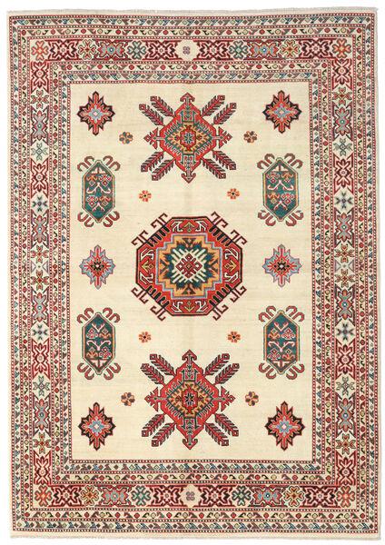 Kazak Rug 173X245 Authentic  Oriental Handknotted Beige/Dark Brown (Wool, Pakistan)