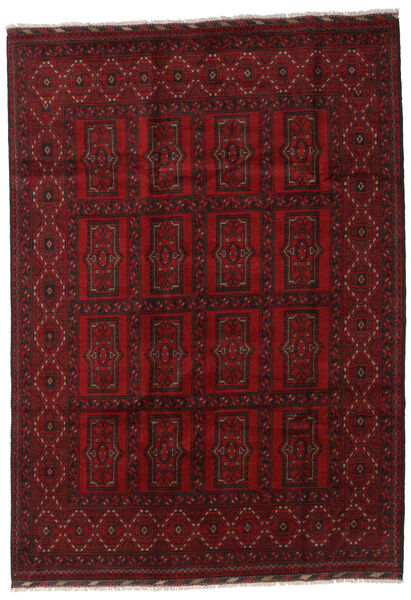 Afghan Rug 203X288 Authentic  Oriental Handknotted Dark Red (Wool, Afghanistan)