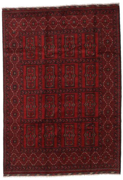 Afgan Dywan 203X288 Orientalny Tkany Ręcznie Ciemnoczerwony (Wełna, Afganistan)