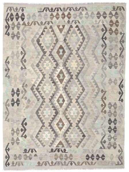 Kilim Afghan Old Style Rug 177X238 Authentic  Oriental Handwoven Light Grey/Dark Beige (Wool, Afghanistan)