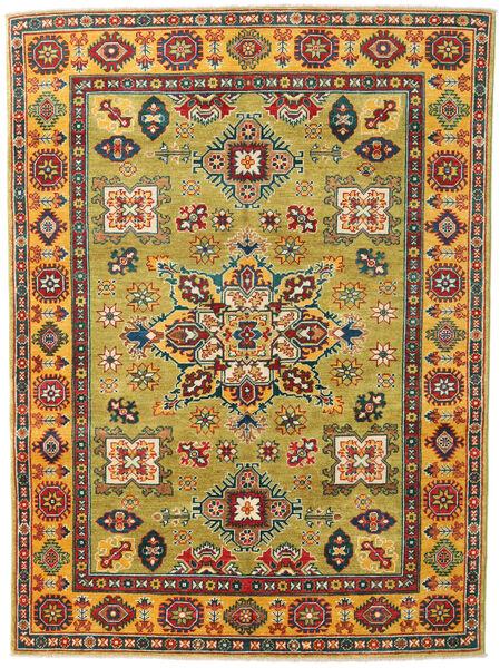 カザック 絨毯 150X203 オリエンタル 手織り オリーブ色/ベージュ (ウール, パキスタン)
