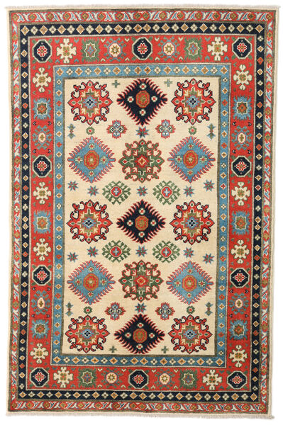 Kazak Rug 117X179 Authentic  Oriental Handknotted Beige/Olive Green (Wool, Pakistan)
