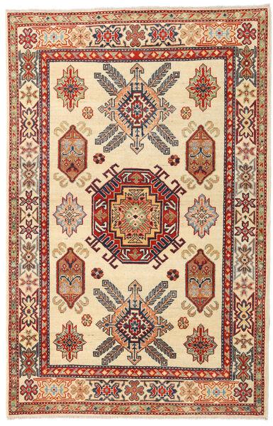 カザック 絨毯 119X186 オリエンタル 手織り ベージュ/薄茶色 (ウール, パキスタン)