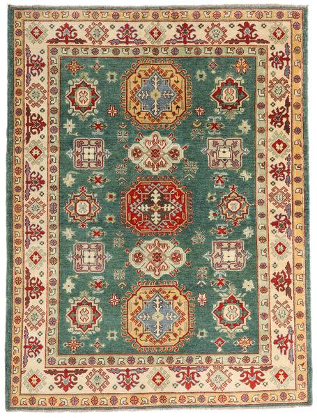 カザック 絨毯 148X198 オリエンタル 手織り 暗めのベージュ色の/深紅色の (ウール, パキスタン)