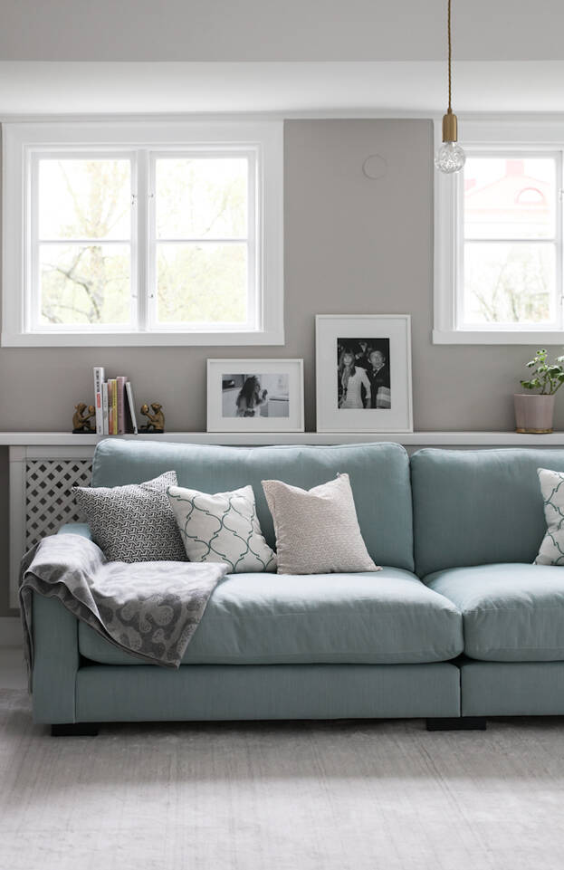 Valkoinen  bamboo silkki handloom - matto olohuone.