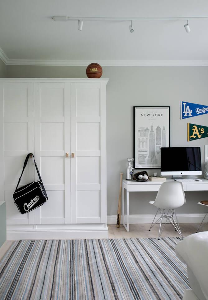 Musta / harmaa  handloom - matto toimisto.