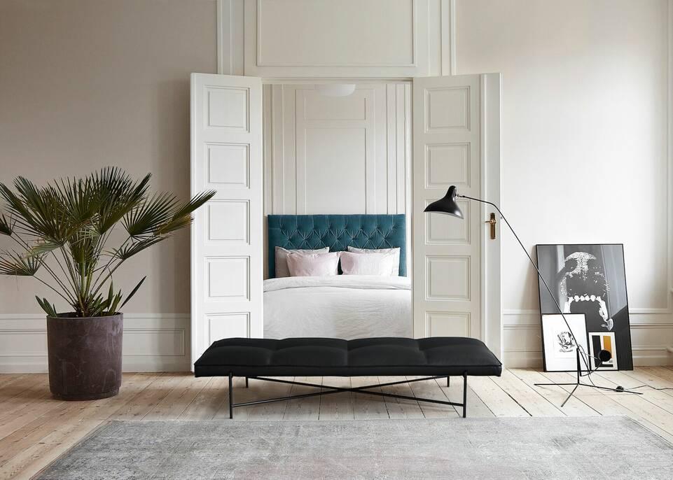Ruskea / keltainen pitkulainen colored vintage - matto makuuhuone.