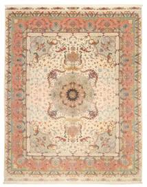 Tabriz 70 Raj silkesvarp signerad: Bajgan / Tarhe Benam matta VAC44