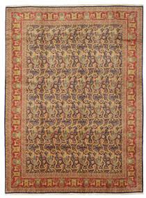 Tabriz 50 Raj figurativt / billedligt med silke tæppe VAA25