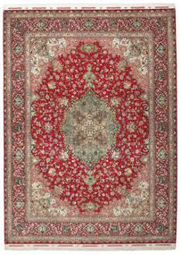 Tabriz 70 Raj zijden pool getekend: Gharebaghi tapijt VAC119