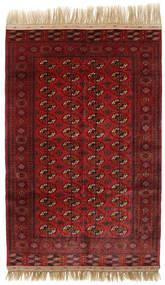 Boukhara/Yamut Tapis 160X244 D'orient Fait Main Rouge Foncé (Laine, Turkménistan)