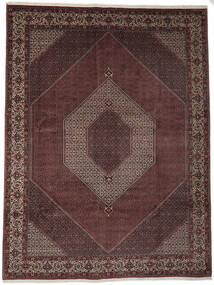 Bidjar Takab/Bukan Rug 302X398 Authentic  Oriental Handknotted Dark Red/Dark Brown Large (Wool, Persia/Iran)