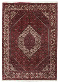 Bidjar Takab/Bukan Rug 201X300 Authentic  Oriental Handknotted Dark Red (Wool/Silk, Persia/Iran)
