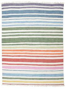 Rainbow Stripe - 白 絨毯 AWT12