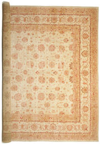 Ziegler Rug 575X842 Authentic  Oriental Handknotted Light Brown/Dark Beige Large (Wool, Pakistan)