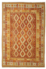 Kilim Afghan Old Style Tappeto 197X293 Orientale Tessuto A Mano (Lana, Afghanistan)