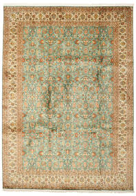 Kashmir pure silk carpet VAZL32