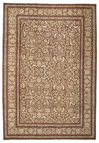 Tabriz Patina Rug 228X332 Authentic  Oriental Handknotted Light Brown/Brown (Wool, Persia/Iran)