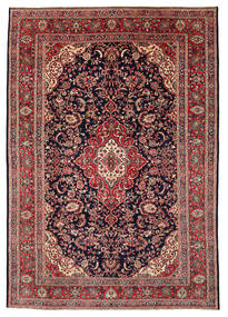 Hamadan Shahrbaf Patina Tapijt 212X308 Echt Oosters Handgeknoopt Bruin/Zwart (Wol, Perzië/Iran)