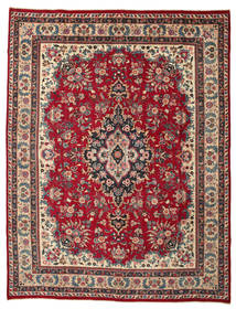 Mashad Patina Rug 291X380 Authentic  Oriental Handknotted Dark Brown/Crimson Red Large (Wool, Persia/Iran)