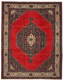 Hamadan Patina Rug 271X348 Authentic Oriental Handknotted Dark Brown/Rust Red Large (Wool, Persia/Iran)