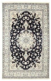 Nain Rug 190X305 Authentic  Oriental Handknotted (Wool/Silk, Persia/Iran)