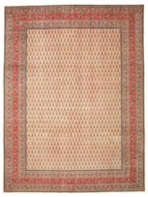 Tabriz Patina Rug 302X400 Authentic  Oriental Handknotted Light Brown/Brown Large (Wool, Persia/Iran)